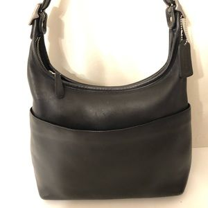 👛 COACH 👛 Vintage black leather bag